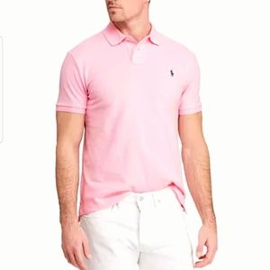 Polo Ralph Lauren Classic Fit Pink Polo